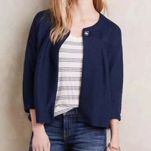 finely cardigan jacket anthropology